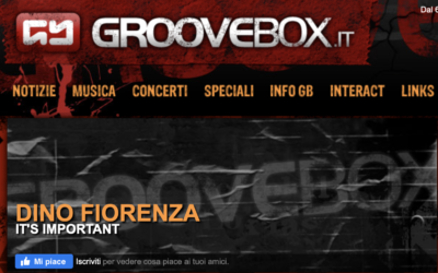 DINO FIORENZA – IT'S IMPORTANT | groovebox.it